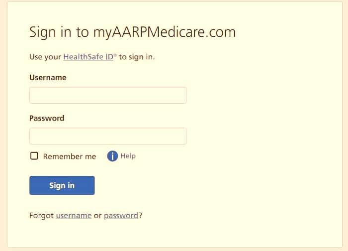 MyAARPMedicare-login